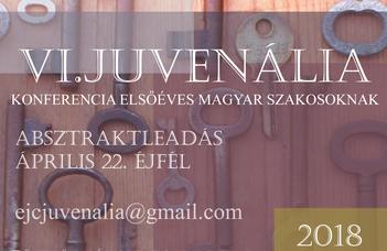 VI. Juvenália konferenciafelhívás