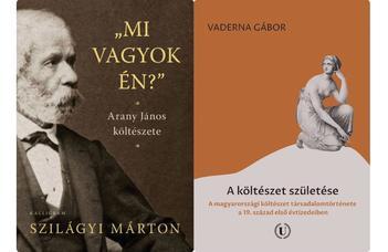 Szilágyi Márton és Vaderna Gábor köteteinek bemutatója