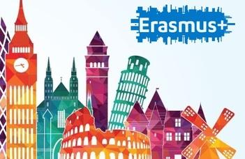 ERASMUS+ pótpályázat 2020–2021. tavaszi félévére